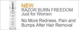 razor burn freedom